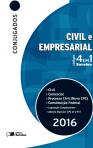 CÓDIGO CONJUGADO 4X1 - CIVIL, PROCESSO CIVIL, COMERCIAL E CONSTITUIÇÃO FEDERAL